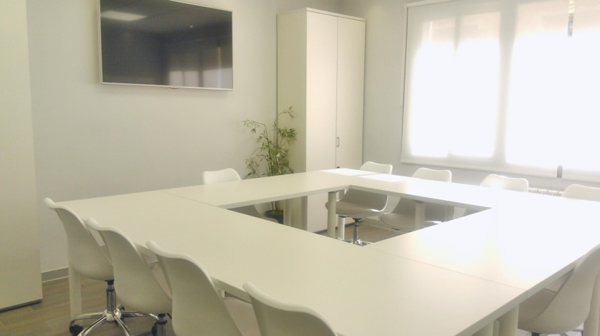 Alquiler de sala de reuniones en el centro de Madrid