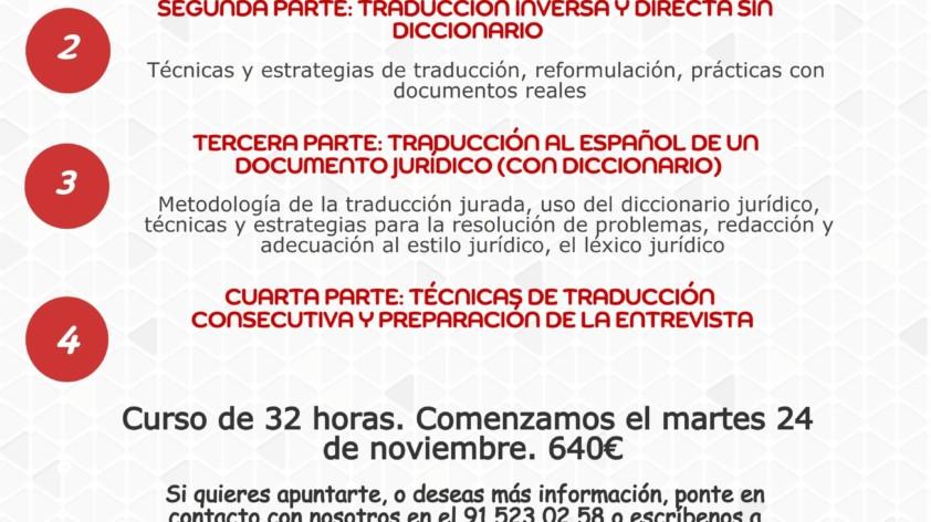 Apúntate a nuestro curso de preparación al examen de traductor – intérprete jurado del MAEC