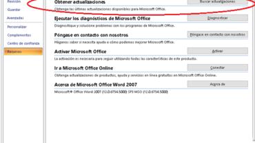 Error Office 2007 : eliminar espacios entre palabras